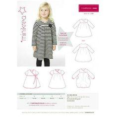 Patron de couture robe T-shirt enfant Minikrea 20003