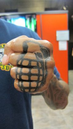 knuckle tattoos.com | 21 Bad-Ass Knuckle Tattoos