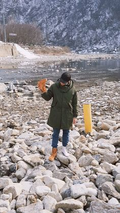 Namjoon -- when you got a rock in your shoe but still gotta pose for that photo lol