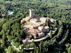 Castello di Gargonza a Monte San Savino in Toscana