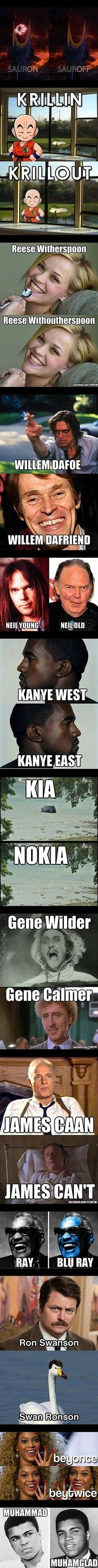 too funny.