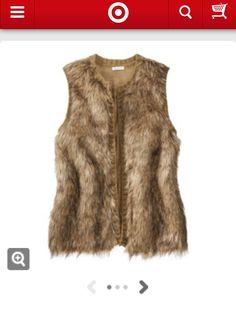 Target Fur Vest