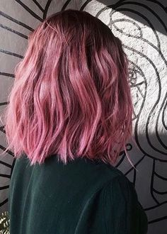 Cabelo curto Rosa Pastel Hair, Ombre Hair, Pink Hair, Hair Dye, Unicorn Hair, Hair 2018, Dream Hair, Hair Streaks, Hair Colours