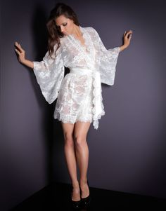 Awesome French lingerie for wedding night :)