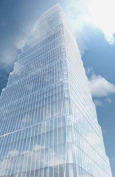 SOM's newest building at Beijing's China World Trade Center (CWTC) complex