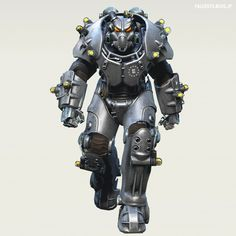 Power Armor with tesla coils Fallout Art, Fallout Concept Art, Fallout New Vegas, Fallout Tips, Fallout Power Armor, X01 Power Armor, Fallout Cosplay, Future Soldier, Fall Out 4