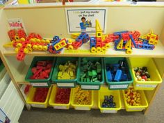 JPEG image - Small construction resources: Helps with imagination, hand and construction skills . Classroom Setting, Classroom Setup, Classroom Displays, Year 1 Classroom Layout, Construction Area Ideas, Construction Eyfs, Nursery Set Up, Nursery Ideas, Teaching Activities