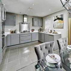 Our Gloster kitchen at Highfield Court, Ickenham