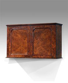 antique oak wall hanging cabinet : antique wall cupboard uk