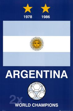 Argentina vs Holanda today! FIFA World Cup.  Let's add 2014 to their list