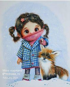 Kids R Us, Children, Pretty Drawings, Fox Art, Cute Images, Illustrators, Thinking Of You, Walt Disney, Girly
