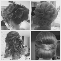 Www.stephaniedorelli.com selection of bridal updo's by me :)