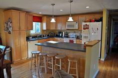 House addition ideas on pinterest split foyer split for Split foyer kitchen ideas