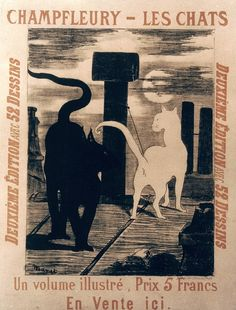 Manet: Cats Poster, 1868 - Granger