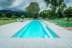 The Symphony pool is a stylish, contemporary fibreglass swimming pool. Visit Narellan Pools to get a free quote from a qualified swimming pool builder.