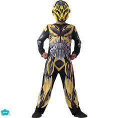 Disfraz de Bumblebee movie Transformers 4 para niño