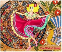 Fan Art of Candy Mexicana for fans of Candy Candy. Candy muy mexicana