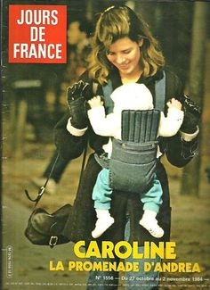 46-Jours de France N°1556 Caroline Monaco avec Andrea