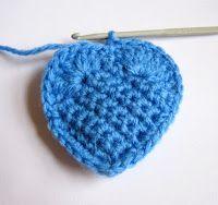 Valentine Crochet Hearts Tutorial