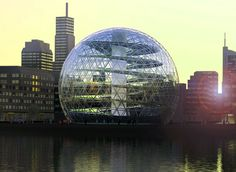 Plantagon seems to have traded in its initial geodesic dome design for a sheer tower that both contains and showcases the plants growing inside. This prototype building will be called the International Centre of Excellence for Urban Agriculture, and it wi Creative Architecture, Futuristic Architecture, Sustainable Architecture, Beautiful Architecture, Beautiful Buildings, Sustainable Design, Art And Architecture, Agriculture Durable, Urban Agriculture