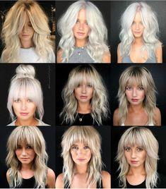 Modern Shag Haircut, Long Shag Haircut, Medium Hair Cuts, Medium Hair Styles, Curly Hair Styles, Medium Shag Haircuts, Shag Hairstyles, Girl Hairstyles, Hair Brained