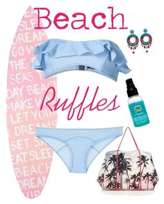 """""""Ruffles"""" by jessbotelho on Polyvore featuring Ayala Bar, Bumble and bumble, Samudra, PBteen and Lisa Marie Fernandez"""