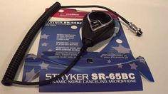 Stryker SR-65BC Noise Canceling Microphone