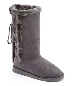 Another great find on #zulily! Gray Ned Boot #zulilyfinds