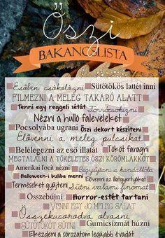 Őszi bakancslista (source: ?) #bucketlist #falltime