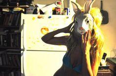 creepy bunny masks