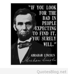 Best Inspirational Abraham Lincoln quotes