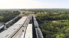 Texas: US 183 South toll project about 50% complete, first nontolled section opening to traffic