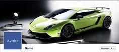 Free Facebook Timeline Cover Photos - Quality-Cover.com: Green Sports Car