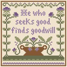 Proverbs - Little House Needleworks