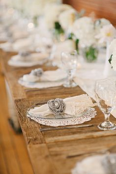 #PlaceSettings |  See the DIY wedding on #SMP Weddings: http://www.stylemepretty.com/2013/09/05/diy-los-angeles-wedding-from-perpixel-photography/ Perpixel Photography