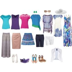 Plus Size Wardrobe Capsule | fashion look from May 2013 featuring Tory Burch dresses, Wallis ...