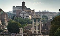 The Forum, Rome. The city also has many free activities, events and venues that mean you don't always have to follow the crowds. Photograph:...