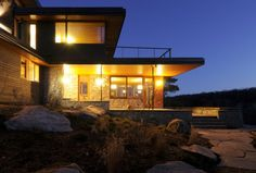 Eco Friendly Retreat in Ontario by Altius Architecture | HomeDSGN