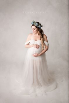 1140daa09e0 Maternity gowns by Sew Trendy Fashion   Accessories · Stunning mama in our   charlizebodysuit and  willowskirt in  ivory. Maternity Photo Props