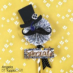 Festa Del Papà Lollipop Card by Angela Tombari for Yuppla Craft DT