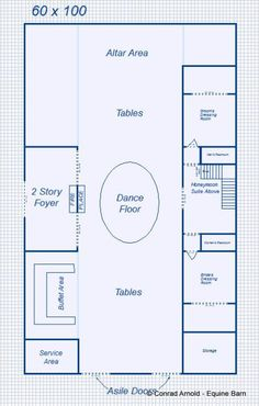 Floor Layout event barn floor plans | the barn pugh auditorium shorty's stage