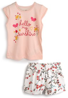 Toddler Outfits, Kids Outfits, Girls Size 10 Clothes, Kids Girls Tops, Kids Zone, Hot Pants, Baby Design, Baby Kids, Fashion Outfits