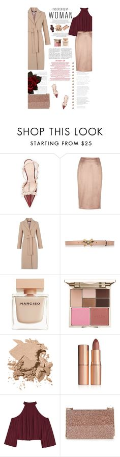 """Untitled #2560"" by amimcqueen ❤ liked on Polyvore featuring Kate Spade, River Island, Whistles, Gucci, Narciso Rodriguez, Stila, Bobbi Brown Cosmetics, Charlotte Tilbury, Marc by Marc Jacobs and W118 by Walter Baker"