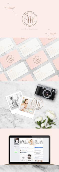 Gaby Muller Photography - Brand Identity  #brandidentity #logo #logodesign #photography #photographer #etsy #love #logos #designer #needlogo #stocklogo #behance #love #businesscard  http://one-giraphe.com/prev.php?c=203