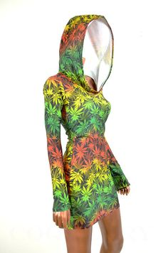 Rasta Pot Leaf Romper c: i want