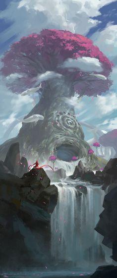 ArtStation - 白鲸树, YinXian Gin