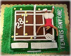 Tennis cake!!!