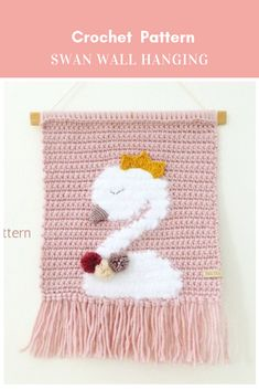 Check out our crochet swan selection for the very best in unique or custom, handmade pieces from our shops. Crochet Bat, Crochet Wall Art, Crochet Panda, Crochet Wall Hangings, Crochet Bunny Pattern, Crochet Rabbit, Crochet Home Decor, Tapestry Crochet, Crochet For Kids