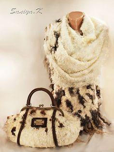 Палантины и сумки SaniyaK: