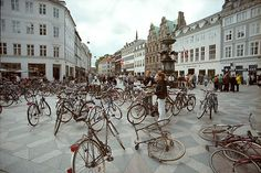 One of the nicest things about Copenhagen is that it is a very bicycle friendly city. For many years now, the capital of Denmark Biking Around Copenhagen Copenhagen Travel, Copenhagen Denmark, Copenhagen Tourist Attractions, Capital Of Denmark, Bike Path, Travel Goals, Travel List, Travel Guide, Where To Go